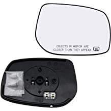 New Replacement Driver Side Mirror Heated Glass W Backing Compatible With 2005-2010 Jeep Grand Cherokee Sold By Rugged TUFF