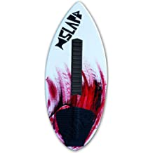 Slapfish Skimboards Kids /& Adults Fiberglass /& Carbon 48 with Traction Deck Grip Riders up to 200 lbs 4 Colors