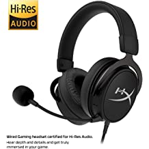 d88d580adc3 HyperX Cloud Mix Wired Gaming Headset + Bluetooth Option - Game and Go -  Detachable Microphone - Signature Comfort - Lightweight - Multi .