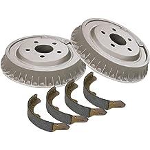 ACDelco 17524B Professional Bonded Rear Drum Brake Shoe Set