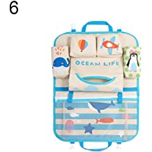 Universal Multifunction Car Seat Back Storage Hanging Bags Organizer Pocket Car Decoration Gift LUYANhapy9 Car Interior Accessories