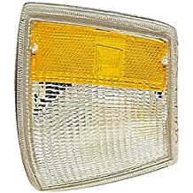 Replaces F8AZ-13201-AA, F8AZ13201AA APDTY 2741413 Turn Signal Park Lamp Light Housing Fits Front Left 1998-2004 Ford Crown Victoria