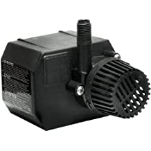 Fish Tanks Water Pump for Small Ponds 8.2 Max Fountain Height Black Fountains Beckett Corporation 800 GPH Submersible Pond and Waterfall Pump with Filter and Aquariums