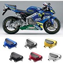 FocusAtOne Motorcycle CNC Aluminum Engine Crash Guard Side Protector Frame Slider for 2009-2014 Yamaha YZF R1 1000 YZF-R1 YZF-1000 2010 2011 2012 2013 09-14 Black