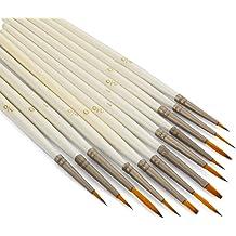 Mack Brush 179-0 #0 Brown Pencil Quill W//Plain Wood Handle MACK SIGN
