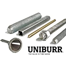 SHAVIV 29202 UB2000 Black Uniburr with B10 Hi-Speed Steel Blade