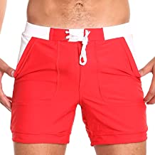 99e8d9ca029 Taddlee Men Swimwear Swimsuits Solid Basic Long Swim Boxer Trunks Board  Shorts