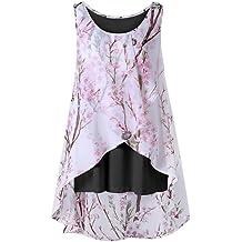 LuminitA Mens Boho Print Short Sleeve T-Shirt Hawaiian Beach Button Down Summer Top Blouse