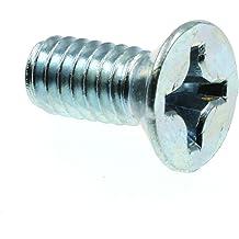 75-Pack Flat Head Phillips Drive Zinc Plated Steel Prime-Line 9001878 Machine Screws 1//4 in.-20 X 1-1//4 in.