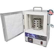 KK-6 Kwik Kiln Propane Melting Furnace Set with Crucible and Liner for Gold Melting Precious Metal Jewelry Making Casting Made in The U.S.A.
