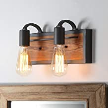 Lnc A03439 Farmhouse Bathroom Lighting Fixtures Rustic Vanity Sconce Wood Wall Lamp Buy Products Online With Ubuy Kuwait In Affordable Prices B07d6m4w52