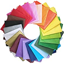 12 Colors,60PCS Tupalizy 20 x 27.5 Inches Rainbow Tissue Paper Bulk for Gift Bag Flowers DIY Art Craft Packing Decorative/Wrapping Paper for Christmas Wedding Birthday Party Thanksgiving Festival