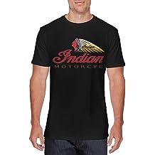 JILILY New Art Yamaha-Motorcycles-Logo Fashion T Shirt Long Sleeve Pure Cotton for Male White