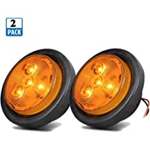Sold in Pairs Anzo USA 521033 Chevrolet Black 6 Pcs Cornering Light Assembly - 4 White 2 Yellow