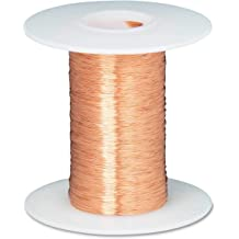 """26 AWG Gauge Bare Copper Wire Buss Wire 100/' Length 0.0159/"""" Natural"""