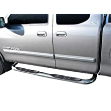 ARIES 202022 3-Inch Round Black Steel Nerf Bars Select Toyota 4Runner