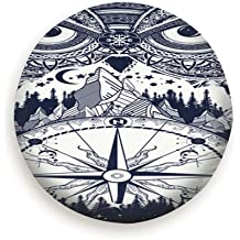 Rv SUV and Many Vehicle Spare Tire Cover Zebra Skin Clip Art Polyester Water Proof Dust-Proof Universal Spare Wheel Tire Cover Fit for Jeep,Trailer