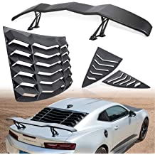 ECCPP ABS Spoiler Wing Rear Window Roof Unpainted Replacement fit for 2006-2015 Honda Civic