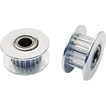 1//2 Pitch Browning 28HH150 Steel Stock Gearbelt Pulleys with Split Taper Bushings for H150 Belts 1.5 Wide