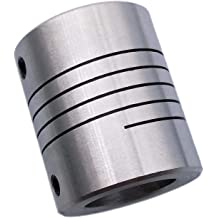 10mm Coupling Length 66mm Coupling Outer Diameter VXB Brand D40-L66 20mm to 10mm Jaw type Flexible Coupling Coupling Bore 2 Diameter 40mm