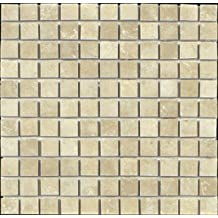 Epoch Tile SC2X2 2x2 Scabos Tumbled Travertine