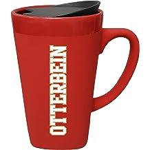 Design-2 Red The Fanatic Group University of Pennsylvania Ceramic Mug with Swivel Lid