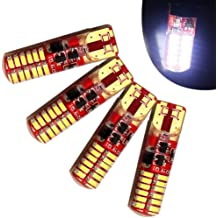 Yellow Ronben 20X T5 B8.5D 5050 1SMD LED Dashboard Panel Dash Wedge Side Light Bulbs