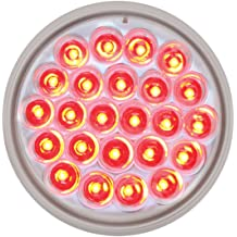 Grand General 80796 Red Universal 3-Stud Mount LED Tail Light