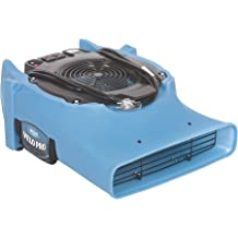 Variable Speed Floor Blower Fan 950 CFM with 1.8 Amps Plumbing Use Walls High-velocity Ai AlorAir Zeus 900 Air Mover Commercial Blower for Carpets Circuit Breaker Protection,on-Board Duplex GFCI