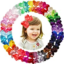 WHOLESALE 40pcs BABY TODDLER GIRL PINWHEEL HAIR BOWS BONUS 6 CHRISTMAS BOWS
