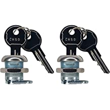 CH545 UWS Pair of 2 Key pre Cut to Code by keys22 Replacement New Keys for CH545 UWS Truck Tool Box Lock