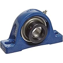 Setscrew Locking Collar 6-3//4 Bolt Hole Spacing Width Cast Iron TF Pillow Block Ball Bearing SKF SY 2 7540 pounds Dynamic Load Capacity 2 Bolts Inch Contact Flinger Seals 2 Shaft 2-1//2 Base To Center Height