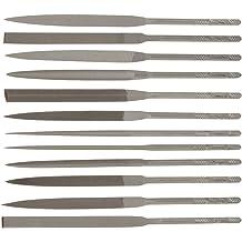 Nicholson Hand File Swiss Pattern Pippin Double Cut 6 Length #2 Coarseness