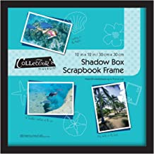 405a8aff1643 MCS 12.75x12.75 Inch Shadow Box Frame Holds 12x12 Inch Scrapbook Page, Black