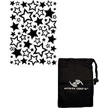 Darice Embossing Folders for Card Making Thanks Hortiz Define 4.25 x 5.75 30008374 Bundle with 1 Artsiga Crafts Small Bag
