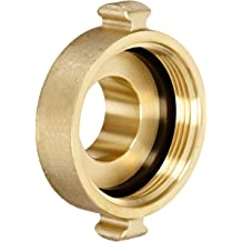 Male Dixon Valve /& Coupling NH Male 2-1//2 NST Dixon Valve FP250F-C Cast Brass Fire Equipment 2-1//2 NST NH Plug with Chain and Pin Lug