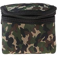 Camouflage Pouch Storage Bag for Headlamp Flashlight Spotlight Headlight