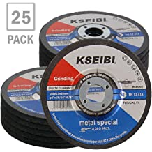 KSEIBI 646002 4-Inch by 0.04-Inch Metal and Stainless Steel INOX Cutting Disc Ultra Thin Flat Cut Off Wheel 5//8-Inch Arbor 25-Pack