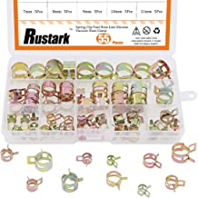 10 Size 5//6//7//8//9//10//11//12//13//14mm 270 Pcs Fuel Line Hose Tubing Spring Clips Clamps Assortment Kit for Motorcycle Scooter ATV