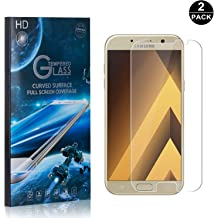 UNEXTATI/® Premium HD Clear Anti Scratch Tempered Glass Film for Samsung Galaxy A3 2016 2 PACK Galaxy A3 2016 Tempered Glass Screen Protector