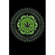 Weed 420 Marijuana Notebook 5.5 x 8.5 Dotted Grid, Bullet Journal