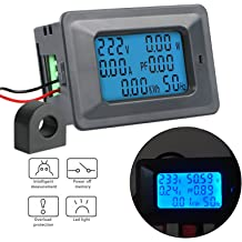 Red Awakingdemi Digits DC Voltmeter 0.56inch LED Display DC 4.5-30V Two-Wire Digital Voltmeter LED Display for Auto Motor