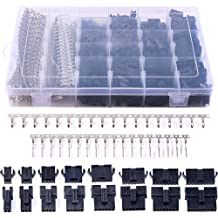 """NEW 2 Pairs of 3 Circuit Molex 0.062/"""" Male and Female Connectors with Pins"""