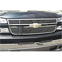 MaxMate Fits 98-01 Cadillac Escalade Replacement Upper 1PC Horizontal Billet Polished Aluminum Grille Grill Insert