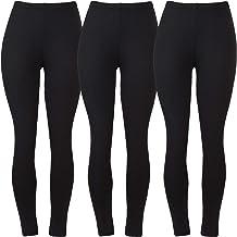 772e739e9b Aenlley Buttery Soft Spandex Leggings for Women Girls Slim Opaque Fleece  Lined Legging
