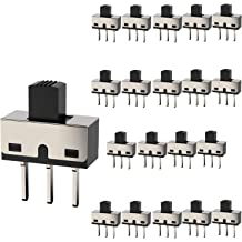 1 item s E-SWITCH EG2207 Switches slide EG Series DPDT On-On Vertical Through Hole Slide Switch