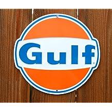 Gulf Super No-nox Nostalgia Sign Tag City SPSOG