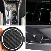 White Console Liner Kit Accessories for Ford F150 2015//2016 Door Fluorescent mats Pack of 29 YAOFAO Anti-dust Non-Slip Center Console /& Cup Holder Rubber Liners Fit Cup