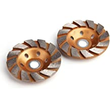 Wood Carving Disc 2.6//65mm Diameter Kecheer High Hardness 12-Teeth Wood Shaping Angle Grinder 0.6//16mm Bore Hole Black 2pcs//1pc