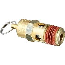 200 psi Set Pressure Control Devices SA38-1A200 SA Series Brass Hard Seat ASME Safety Valve 3//8 Male NPT